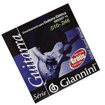 Encordoamento Guitarra Giannini GEEGST010 -