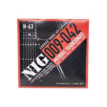 Encordoamento Guitarra Nig Tradicional .009/.042 N63 -