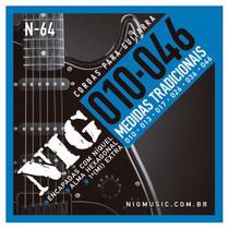 Encordoamento Guitarra Nig Tradicional .010/.046 -