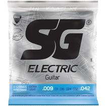 Encordoamento Guitarra Sg 5145 .009-.042 Extra Leve -