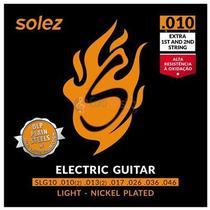 Encordoamento Guitarra Solez 0.010'' -