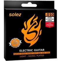Encordoamento Guitarra Solez 0.10 -