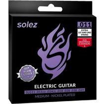 Encordoamento Guitarra Solez 0.11 -