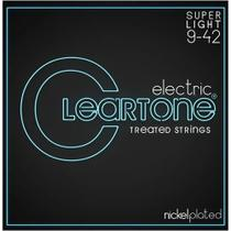 Encordoamento Guitarra Super Light 009-042 Cleartone Nickel -