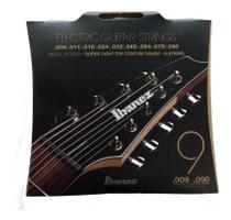 Encordoamento inox p/ guitarra 9 cordas  iegs9 0.09 - ibanez -