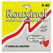 Encordoamento Inox para Guitarra Elétrica com Bolinha - Rouxinol -
