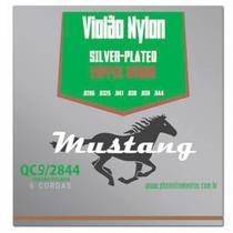 Encordoamento Mustang QC9 Tensão Pesada para Violão Nylon - Phx
