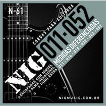 Encordoamento NIG Guitarra Tradicional 011 N61 -