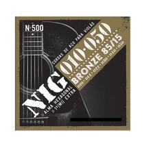 Encordoamento NIG N500 P/ Violão Aço 10/50 - EC0199 - Nig strings