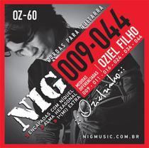 Encordoamento NIG OZ60 P/ Guitarra - Oziel Filho .009/.044 - EC0109 - Nig strings