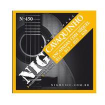 Encordoamento NIG P/ Cavaquinho C/ Bolinha N-450 - EC0207 - Nig strings