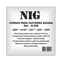 Encordoamento NIG P/ Guitarra Baiana 9/48 - EC0015 - Nig strings