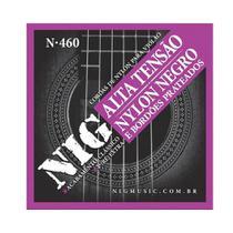 Encordoamento NIG P/ Violão Náilon N-460 Tensão Alta 0.029/0.044 - EC0436 - Nig music