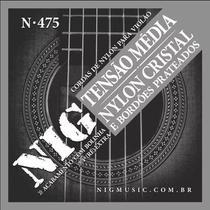 Encordoamento NIG Violão Náilon N475 -