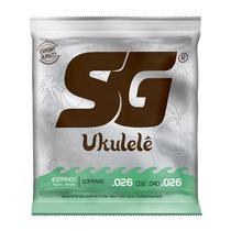 Encordoamento Nylon para Ukulele Soprano - SG -