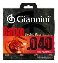 ENCORDOAMENTO P/ BAIXO GIANNINI Geebrl- 0.040 LEVE NIQUEL -