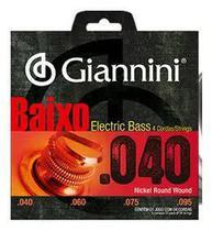 ENCORDOAMENTO P/ BAIXO GIANNINI Geebrl- 0.040 Niquel -