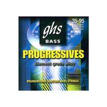 Encordoamento p/ Contrabaixo GHS XL8000 Extra Light (Escala Longa) Progressives (4 cordas) - Ghs Strings