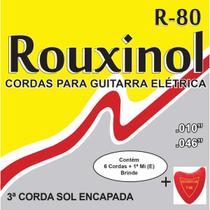 Encordoamento P/GUITARRA Eletrica Leve 10/46 - Rouxinol