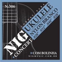 Encordoamento P/UKULELE CONCERT  BR.028/032/040/028 - NIG Rouxinol -