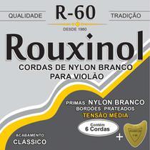 Encordoamento P/VIOLAO NYLON BC. Md.tensao - Rouxinol