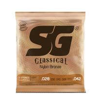 Encordoamento P/ Violão Nylon SG Strings Tensão Leve 28/42 - EC0380 -