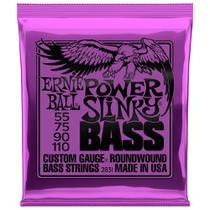 Encordoamento Para Baixo 4 Cordas Ernie Ball Power Slinky 055 - 110 2831 -