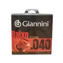 Encordoamento para Baixo 4 Cordas Giannini 0.040 Geebrl -