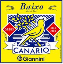 Encordoamento para Baixo 4 cordas Giannini Canário GESBX -