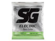 Encordoamento para Baixo 5 Cordas SG Strings Extra Light .040 -