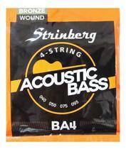 Encordoamento Para Baixolão 4 Cordas Strinberg BA4 -