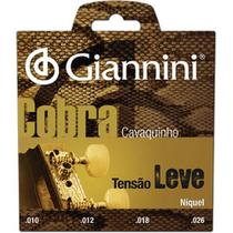Encordoamento para Cavaco GESCL Serie Cobra ACO Leve Giannini -