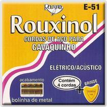 Encordoamento para Cavaquinho Elétrico Rouxinol E-51 -