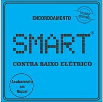 Encordoamento Para Contra Baixo 5 Cordas Smart NIQUEL 0.45 -