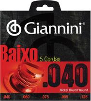 Encordoamento para contra baixo elétrico 5 cordas geebrl 5 - - Giannini