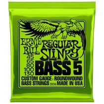 Encordoamento Para Contra Baixo Ernie Ball 5 Cordas .45 - 130 2836 - Selo Royal Music -