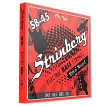 Encordoamento para Contrabaixo 4 cordas 0,045 SB-45 Strinberg -