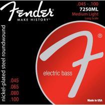 Encordoamento para Contrabaixo 4 Cordas ACO 0.045 7250ML Niquelado Fender -