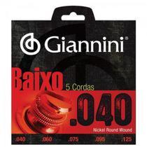 Encordoamento Para Contrabaixo 5 Cordas Geebrl 0.40 Giannini -