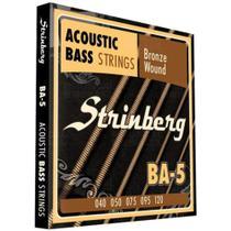 Encordoamento Para Contrabaixo Acústico Strinberg Ba 5 -
