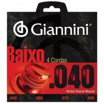 Encordoamento para Contrabaixo Geebrl 0.40 Giannini -