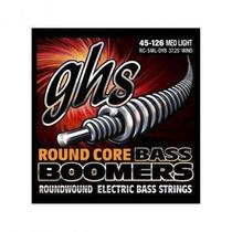 Encordoamento para Contrabaixo GHS RC-5ML-DYB Medium Light (Escala Longa) Série Bassics (contém 5 cordas) - Ghs Strings