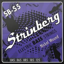 Encordoamento Para Contrabaixo Sb-55 Strinberg -