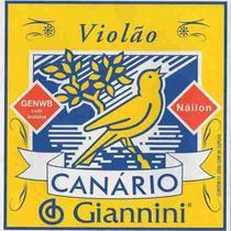 Encordoamento Para Giannini Canário Violão 6 Cordas Nylon -