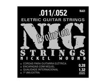 Encordoamento para Guitarra 6 Cordas Tradicional N61 011 052 NIG -