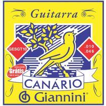 Encordoamento para guitarra canario .010 - gesgt10 - Giannini