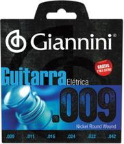 Encordoamento Para Guitarra Elétrica Geegst 9 - .009-.042 - Giannini