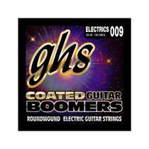 Encordoamento para Guitarra Elétrica GHS CB-GBCL Custom Light Série Coated Boomers (contém 6 cordas) - Ghs Strings