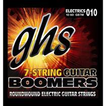 Encordoamento para Guitarra Elétrica GHS GB7M Medium Série Guitar Boomers (contém 7 cordas) - Ghs Strings