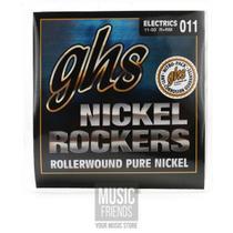 Encordoamento para Guitarra Elétrica GHS R+RM Custom Medium Série Nickel Rockers (contém 6 cordas) - Ghs Strings